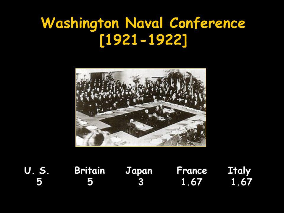 Washington Naval Conference [1921-1922]